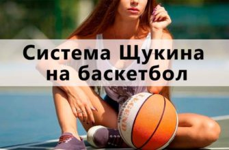 Система Щукина на баскетбол